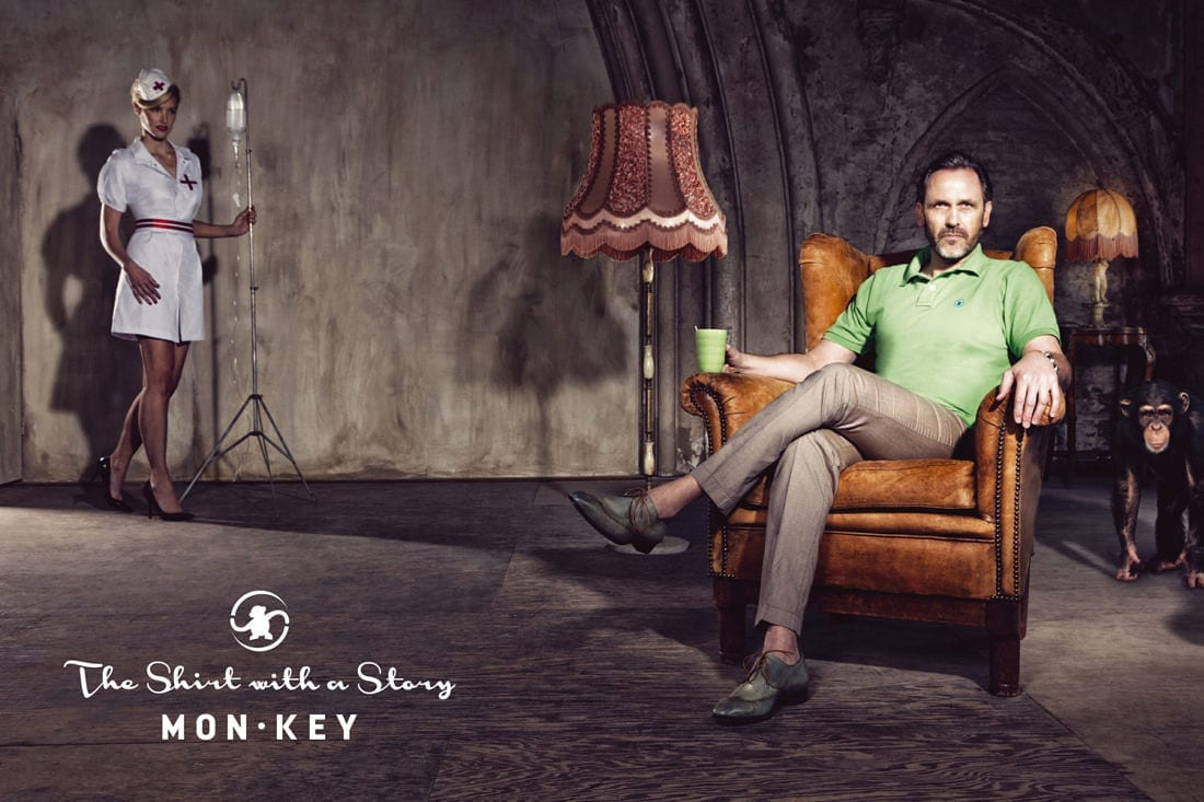 Mon*key A shirt with a story © brenda de vries