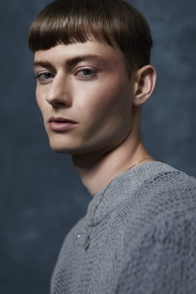 Fashion photography for EE Studio, a genderless denim collection