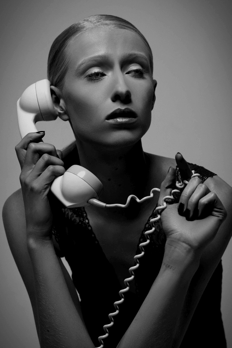 'Call me' a black an white series